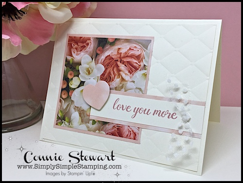 Connie Petal Promenade Card
