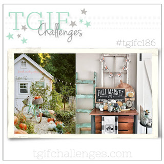 TGIF 186-shed bike country shabby chic