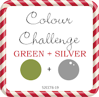 52CCT6-19 Colors-Green and Silver