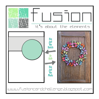 Fusion-butterfly wreath